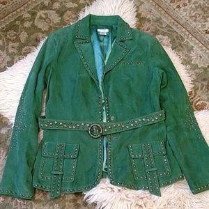 Cache Suede Jacket